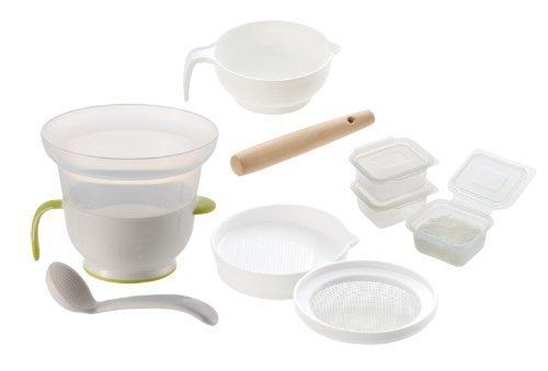 リッチェル 調理器セットE,離乳食,調理セット,