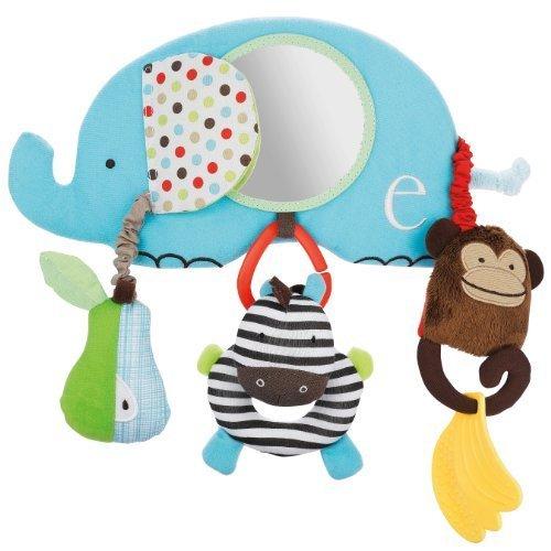 SKIP HOP【ベビーカー用おもちゃ】アルファベットズー・ストローラーバー TYSH185601,チャイルドシート,おもちゃ,
