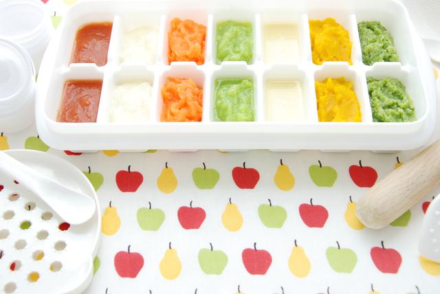 離乳食の冷凍保存,離乳食,中期,
