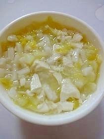 キャベツと豆腐のうどん(離乳食中期),離乳食,中期,