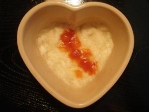 離乳食中期☆ トマトとオニオンのパンがゆ,離乳食,中期,