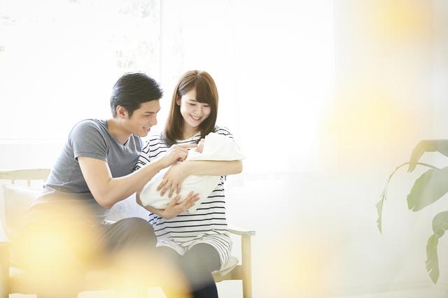 夫婦と赤ちゃん,子作り,