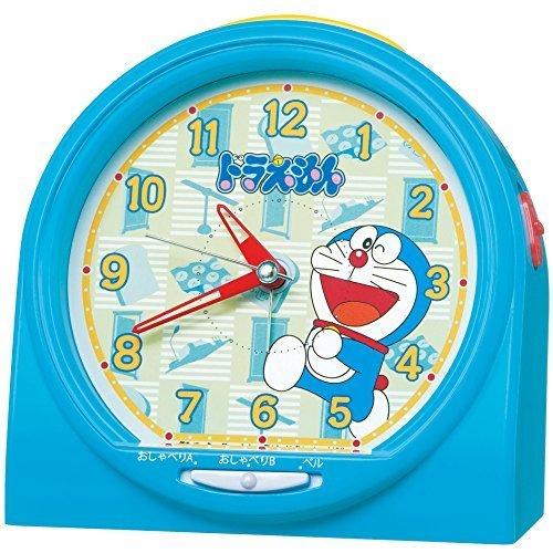 セイコー クロック 目覚まし時計 ドラえもん おしゃべり アラーム アナログ 青 CQ137L SEIKO,小学校,入学祝い,プレゼント