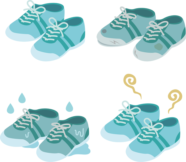 靴臭いイメージ,子ども,足,臭い