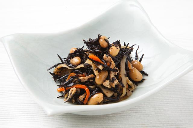 ひじきと大豆の煮物,離乳食,ひじき,