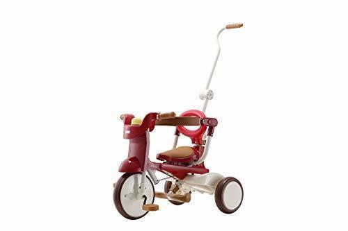 三輪車 iimo02 エタニティ・レッド 1062,三輪車,人気,