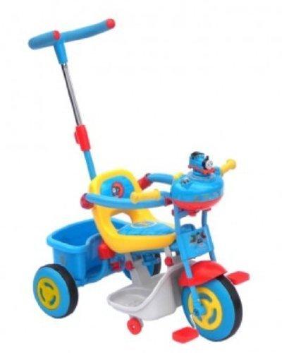 上尾工業 きかんしゃトーマス かじ取り三輪車 ブルー,三輪車,人気,