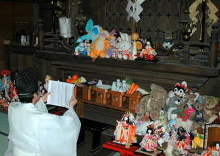 大宝八幡宮の人形供養慰霊祭,ぬいぐるみ,処分,