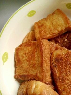 離乳食★きなこフレンチトースト(卵なし),離乳食,フレンチトースト,