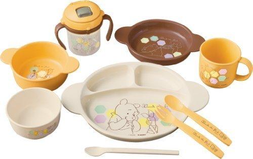 コンビ くまのプーさん ベビー食器セット,離乳食食器,