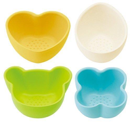 SKATER 離乳食 小鉢 4個セット キャンディ カラー 日本製 BBLS1Q,離乳食食器,