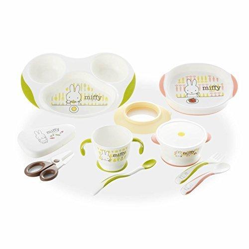 リッチェル TLI(トライ)シリーズ ミッフィーベビー食器セット,離乳食食器,