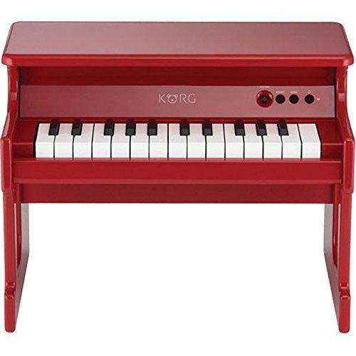 KORG tinyPIANO タイニーピアノ ミニ鍵盤25鍵 レッド,おもちゃ,ピアノ,