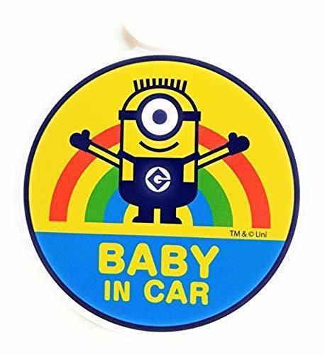 セーフティーサイン ミニオンズ 赤ちゃんが乗ってます ベイビーインカー BABY IN CAR,ベビーインカー,