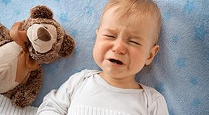 クマさんと赤ちゃん,風邪,痰,