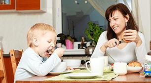 しょう。 5歳児のママからの相談:「食事のペースについて」,