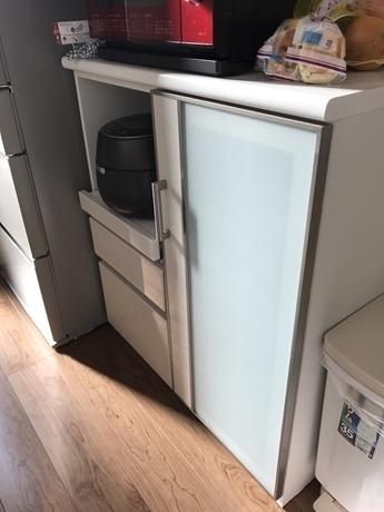 ニトリのキッチンボード,ニトリ,収納,キッチン