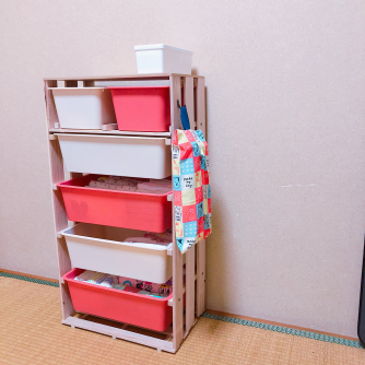 ボックス6つ 板2枚 すのこ3枚,100均,収納,