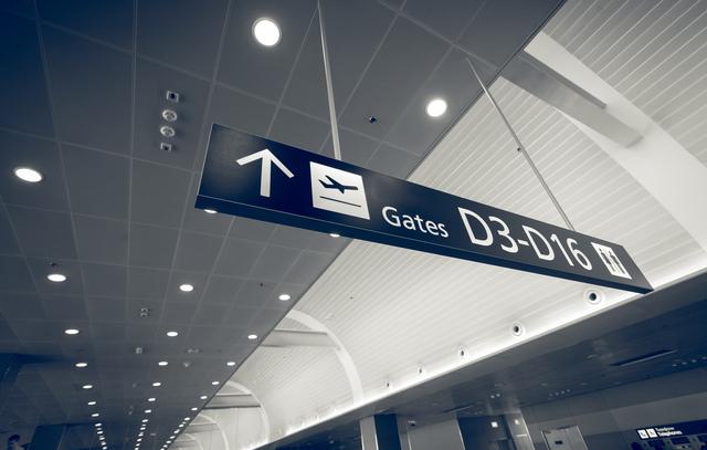 空港ゲート,妊娠,飛行機,