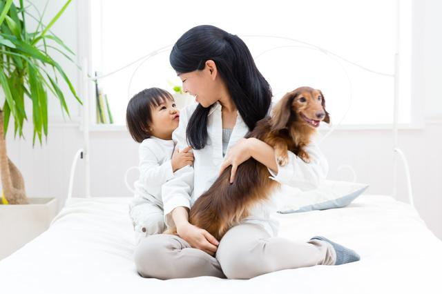 ペットと赤ちゃん,子供,喘息,