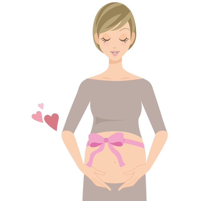 妊婦イメージ,妊娠,12週,お腹