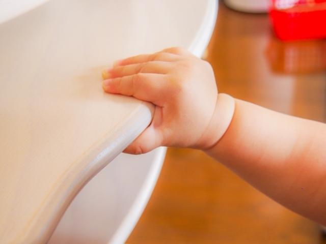 赤ちゃんの手の写真,産後,10ヶ月,