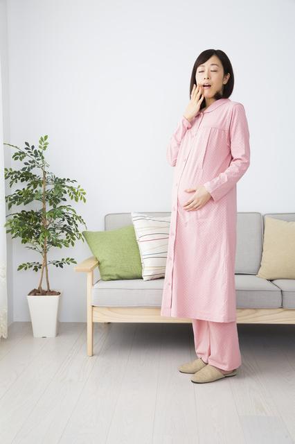 眠気を感じる妊婦,39週,おしるし,