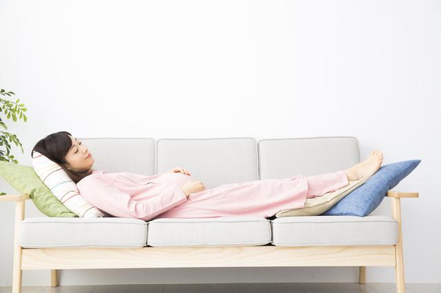 妊娠中の休息,妊娠,11週,症状