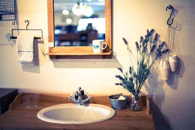 洗面台の写真,妊娠,膀胱炎,