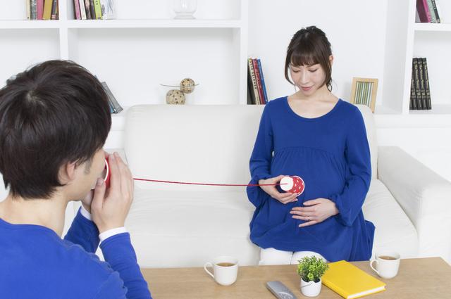 胎児と糸電話,妊娠,40週,