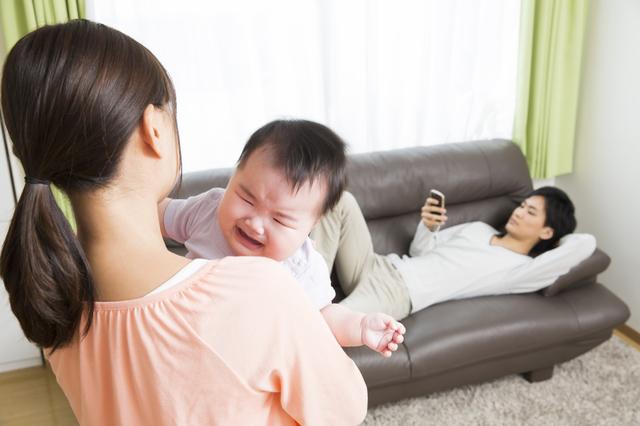 子育てに関心が低いパパ,産後,6ヶ月,