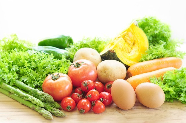 野菜と卵の写真,産後,8ヶ月,