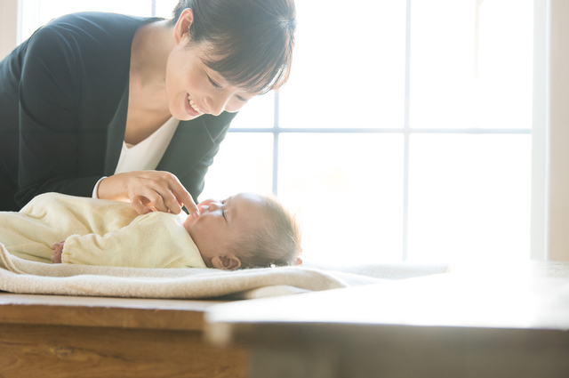 赤ちゃんとママ,育児休業給付金,