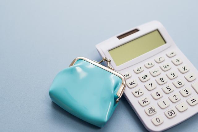 電卓と財布,育児休業給付金,