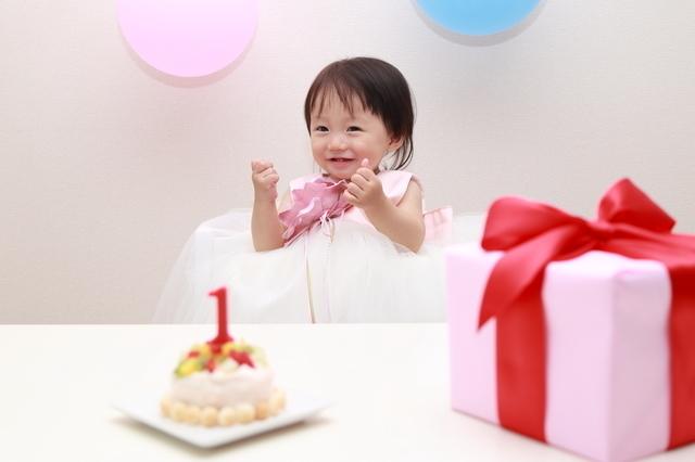 1歳のプレゼント,1歳誕生日,
