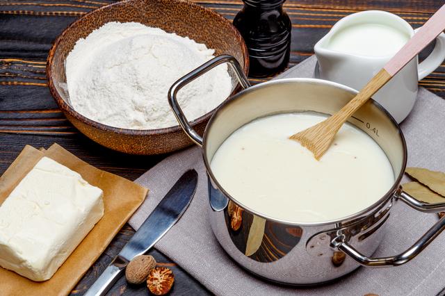ホワイトソース小麦粉バター牛乳,離乳食,ホワイトソース,