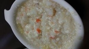 【離乳食中期】さつまいもと人参と豆腐のクリーム粥,離乳食,ホワイトソース,