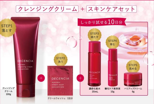 DECENCIA「アヤナス」艶肌体験スペシャルセット,30代,基礎化粧品,おすすめ