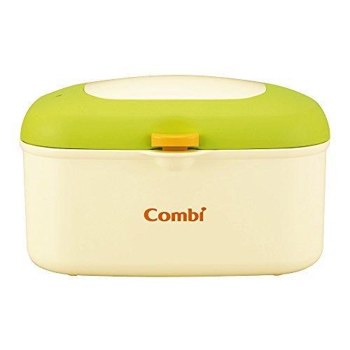コンビ Combi おしり拭きあたため器 クイックウォーマー HU フレッシュ グリーン 上から温めるトップウォーマーシステム,夜,おむつ替え,
