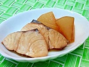【離乳食】ハマチ&大根の煮付け,離乳食,ぶり,