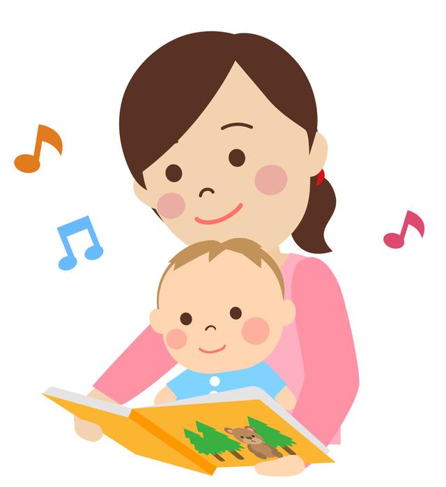 絵本を赤ちゃんに読んでいる,メンタルリープ,