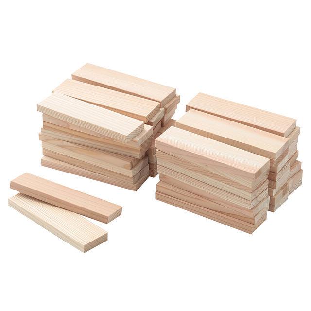 日本の木のおもちゃ_かまぼこ板のつみき 50ピース・対象年齢2歳以上,おもちゃ,キッチン,