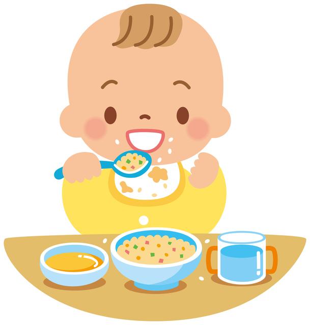 赤ちゃん離乳食イメージ,離乳食,ごま,