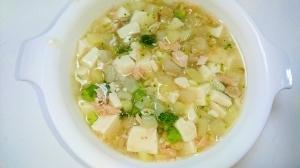 離乳食後期☆鮭と豆腐のトロトロ煮,9ヶ月,離乳食,