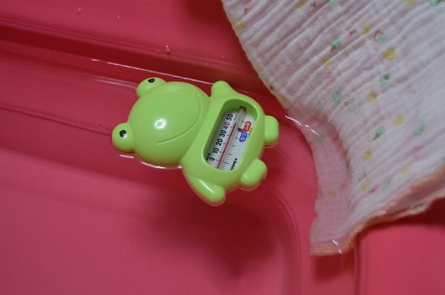 湯温計,新生児,沐浴,