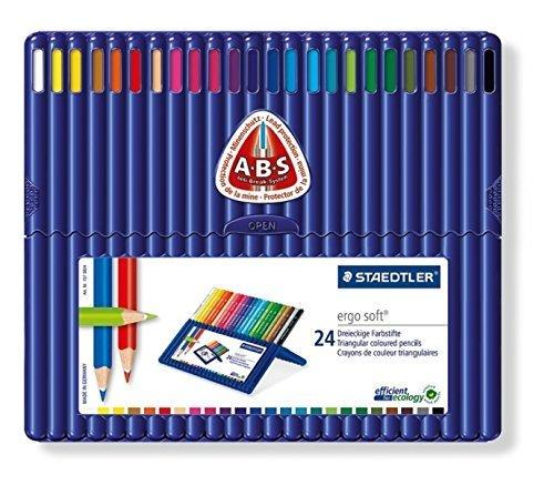 ステッドラー色鉛筆 三角軸,幼児,お絵かき,グッズ