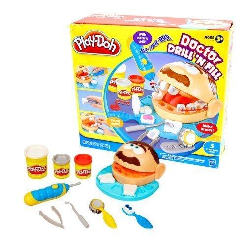 [プレイ・ドー]Play-Doh Doctor DRILL'N FILL/ドクタードリルンフィル 並行輸入品,ごっこ遊び,おもちゃ,