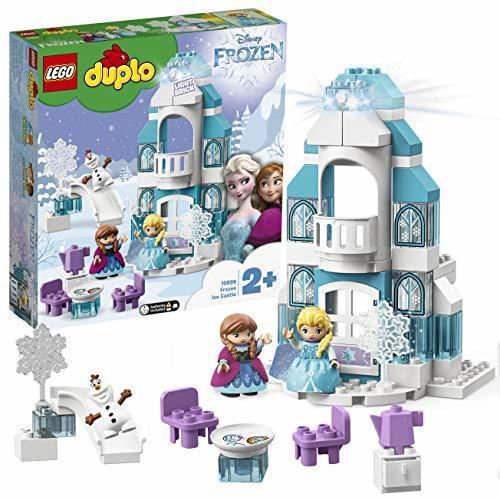 レゴ(LEGO) デュプロ アナと雪の女王 光る! エルサのアイスキャッスル 10899,アナと雪の女王,おもちゃ,人気