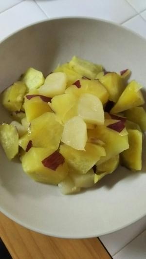 簡単☆煮るだけ♪さつまいも&りんご,離乳食,りんご,