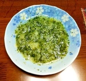 離乳食初期♪小松菜パン粥☆,小松菜,離乳食,